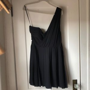 Rachel Roy One Shoulder Cocktail Dress